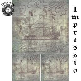 13844. Декупажная карта  Impressio, плотность 45 г/м2