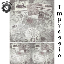 13845. Декупажная карта  Impressio, плотность 45 г/м2