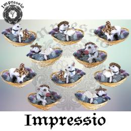 14210. Декупажная карта  Impressio, плотность 45 г/м2