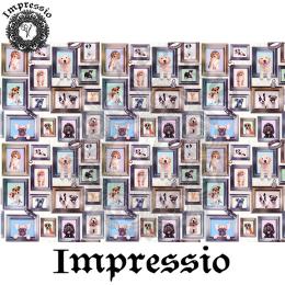 14237. Декупажная карта  Impressio, плотность 45 г/м2