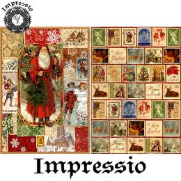 14364. Декупажная карта  Impressio, плотность 45 г/м2