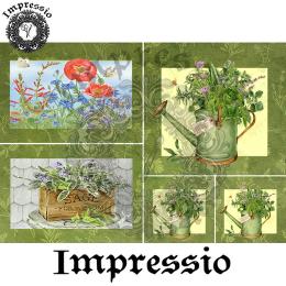 14664. Декупажная карта  Impressio, плотность 45 г/м2