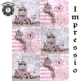 14776. Декупажная карта  Impressio, плотность 45 г/м2