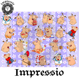 14999. Декупажная карта Impressio, плотность 45 г/м2