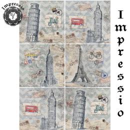 15029. Декупажная карта Impressio, плотность 45 г/м2