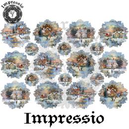 15073. Декупажная карта Impressio, плотность 45 г/м2