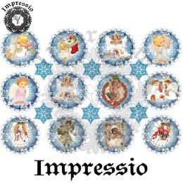 15074. Декупажная карта Impressio, плотность 45 г/м2