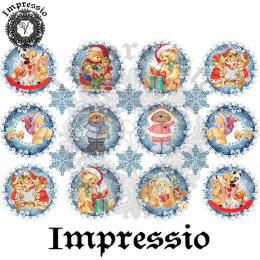 15079. Декупажная карта Impressio, плотность 45 г/м2