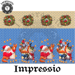 15106. Декупажная карта Impressio, плотность 45 г/м2