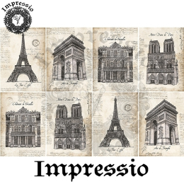 15133. Декупажная карта Impressio, плотность 45 г/м2