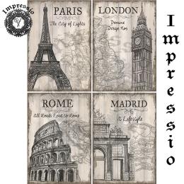 15134. Декупажная карта Impressio, плотность 45 г/м2