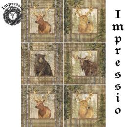 15138. Декупажная карта Impressio, плотность 45 г/м2