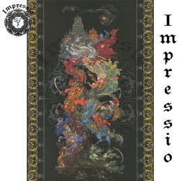 15158. Декупажная карта Impressio, плотность 45 г/м2