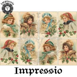 15172. Декупажная карта Impressio, плотность 45 г/м2