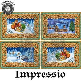 15188. Декупажная карта Impressio, плотность 45 г/м2