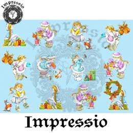 15206. Декупажная карта Impressio, плотность 45 г/м2