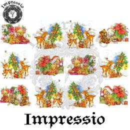 15210. Декупажная карта Impressio, плотность 45 г/м2