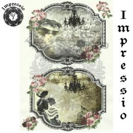 15643. Декупажная карта Impressio, плотность 45 г/м2