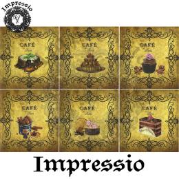 15692. Декупажная карта Impressio, плотность 45 г/м2