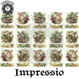 15752. Декупажная карта Impressio, плотность 45 г/м2