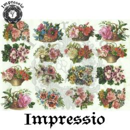 15756. Декупажная карта Impressio, плотность 45 г/м2