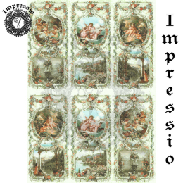 15764. Декупажная карта Impressio, плотность 45 г/м2