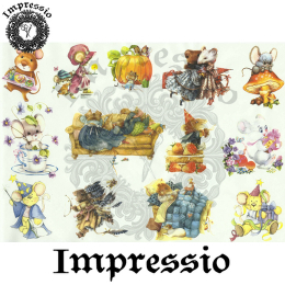 15829. Декупажная карта Impressio, плотность 45 г/м2