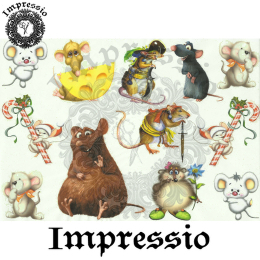 15835. Декупажная карта Impressio, плотность 45 г/м2