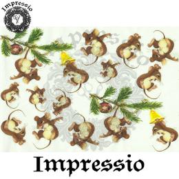 15841. Декупажная карта Impressio, плотность 45 г/м2