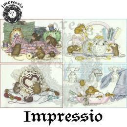 15851. Декупажная карта Impressio, плотность 45 г/м2