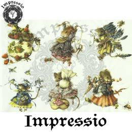 15857. Декупажная карта Impressio, плотность 45 г/м2