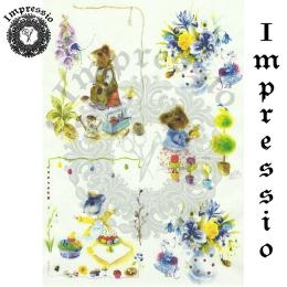 15862. Декупажная карта Impressio, плотность 45 г/м2