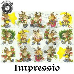 15889. Декупажная карта Impressio, плотность 45 г/м2