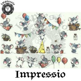 15896. Декупажная карта Impressio, плотность 45 г/м2