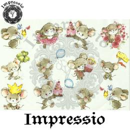 15902. Декупажная карта Impressio, плотность 45 г/м2