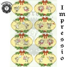 15903. Декупажная карта Impressio, плотность 45 г/м2