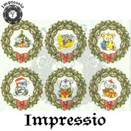 15907. Декупажная карта Impressio, плотность 45 г/м2