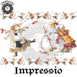 16022. Декупажная карта Impressio, плотность 45 г/м2