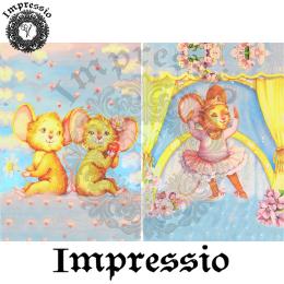 16036. Декупажная карта Impressio, плотность 45 г/м2