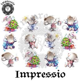 16053. Декупажная карта Impressio, плотность 45 г/м2
