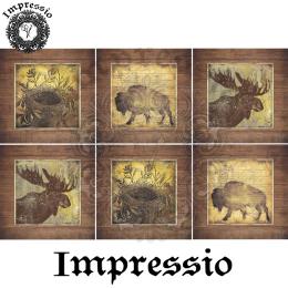 16154. Декупажная карта Impressio, плотность 45 г/м2