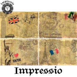 16196. Декупажная карта Impressio, плотность 45 г/м2