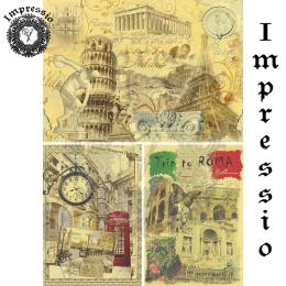 16201. Декупажная карта Impressio, плотность 45 г/м2