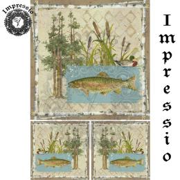16220. Декупажная карта Impressio, плотность 45 г/м2