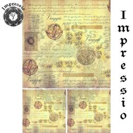 16247. Декупажная карта Impressio, плотность 45 г/м2