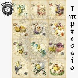 16296. Декупажная карта Impressio, плотность 45 г/м2