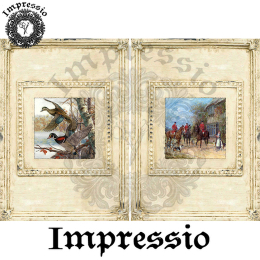 214562. Рисовая декупажная карта Impressio.  25 г/м2