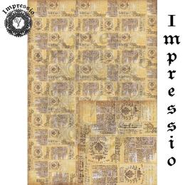 214764. Рисовая декупажная карта Impressio.  25 г/м2