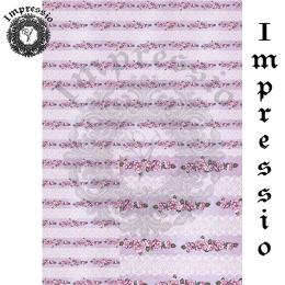 214769. Рисовая декупажная карта Impressio.  25 г/м2