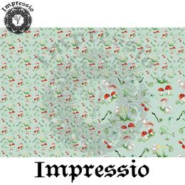 214863. Рисовая декупажная карта Impressio.  25 г/м2